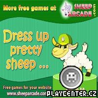 Dress up pretty sheep! - oblékni si svoji ovečku